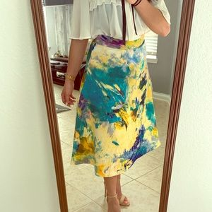 H&M Floral/Multicolor Skirt
